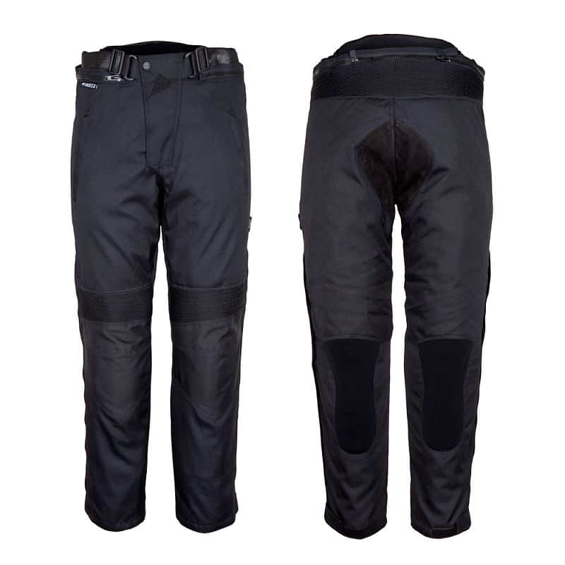 Dámské motocyklové kalhoty ROLEFF Textile Barva černá, Velikost S