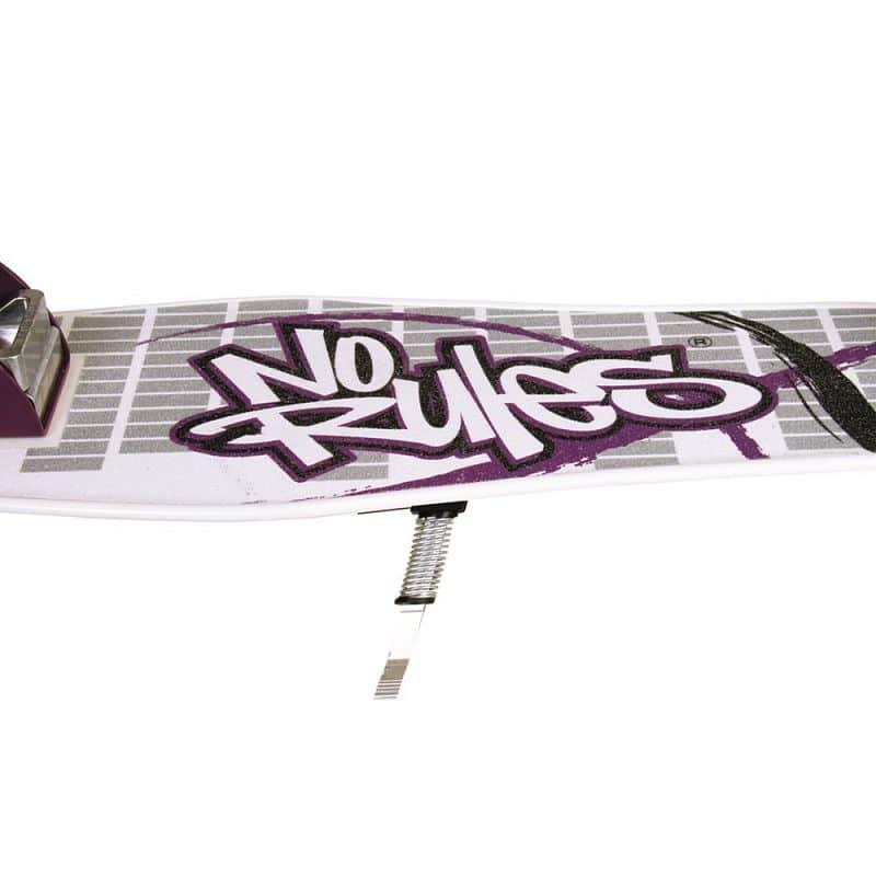 Skládací koloběžka Authentic NoRules 205 bílo-fialová