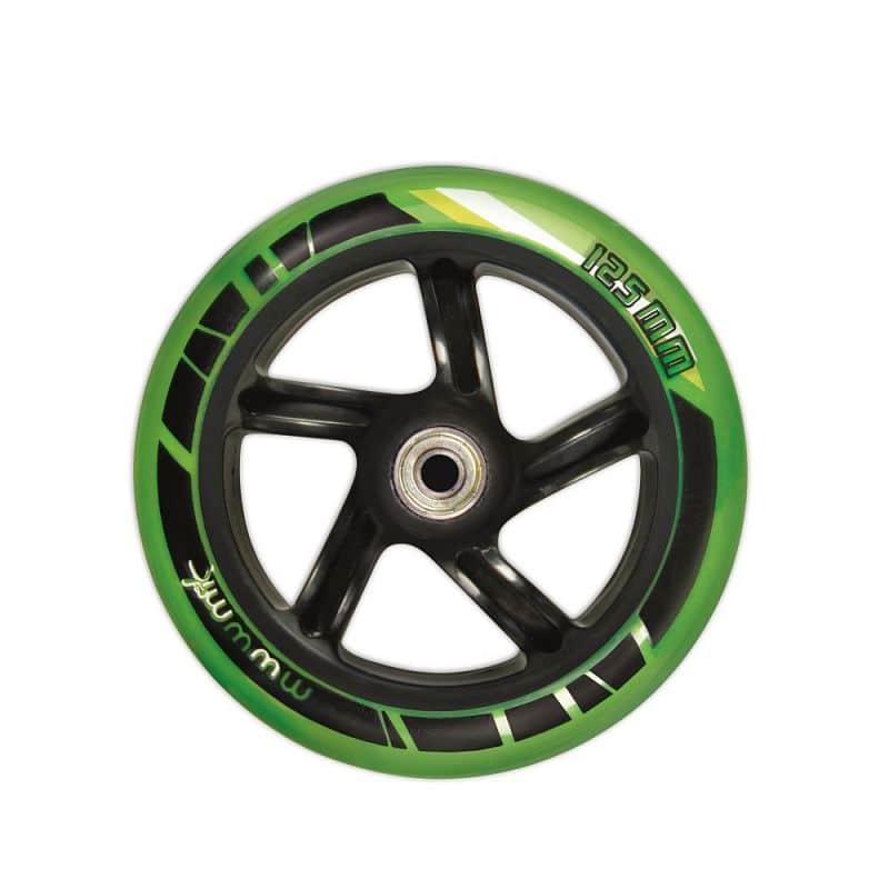 Skládací koloběžka Authentic Muuwmi ST 125 černo-zelená