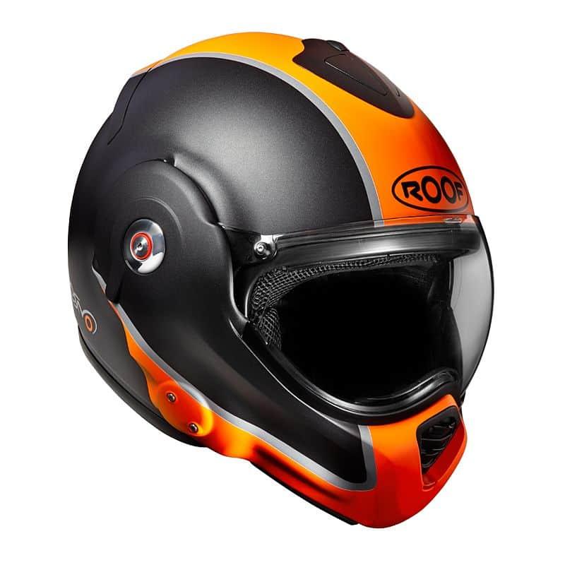 Moto přilba Roof Desmo Flash Mat Barva oranžová, Velikost XXL (63-64)