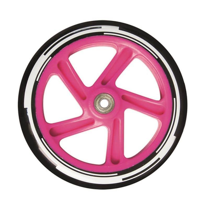 Skládací koloběžka Authentic Muuwmi 180 OR bílo-růžová