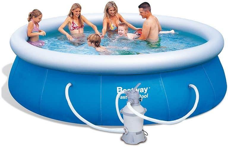 Bazén rodinný Bestway 305 x 76 cm s pískovou filtrací