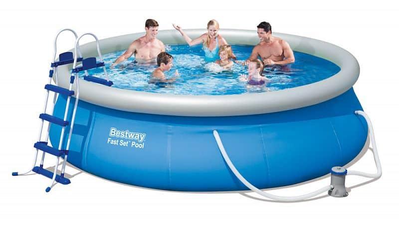 Bazén rodinný Bestway 366 x 91 cm s filtrací a schůdky