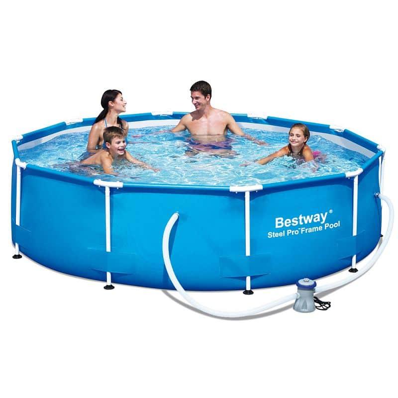 Bazén rodinný s konstrukcí Bestway 305 x 76 cm + filtrace
