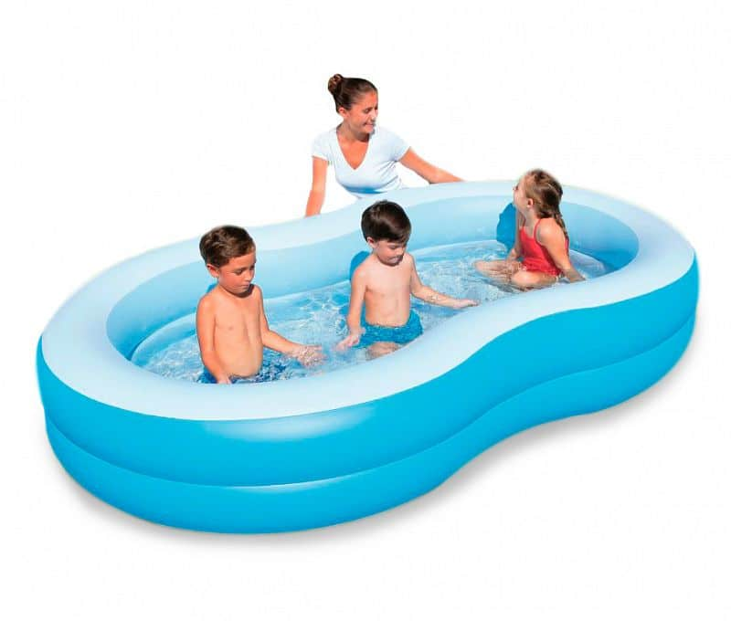 Bazén detský Bestway Lagoon 262 x 157 x 46 cm