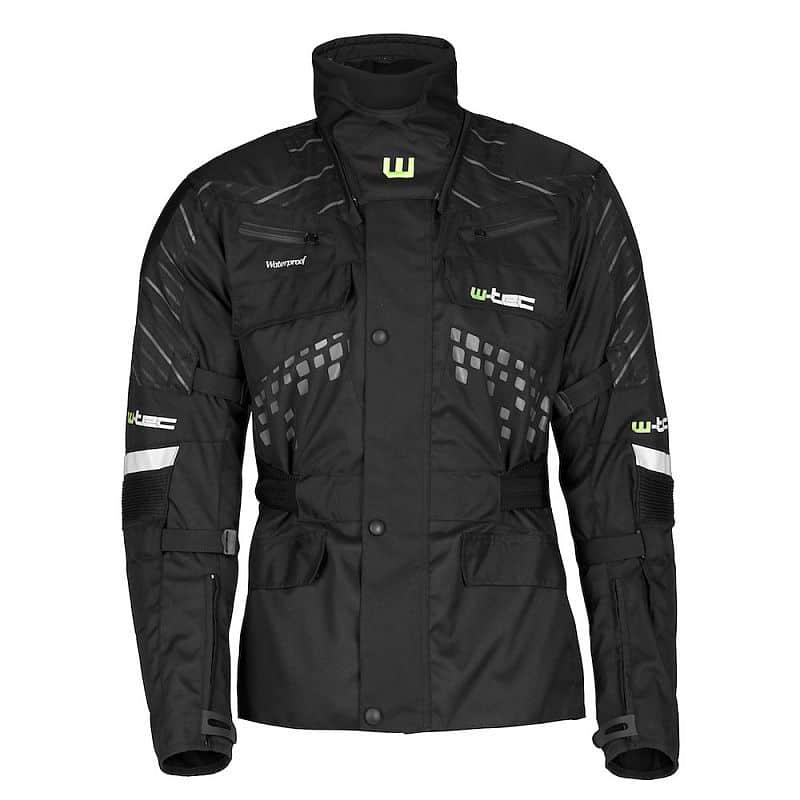 Moto bunda W-TEC Astar černá M - VÝPRODEJ