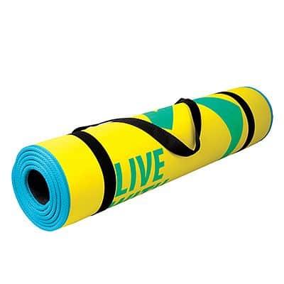 FLEXMAT  Podložka na cvičení žlutá