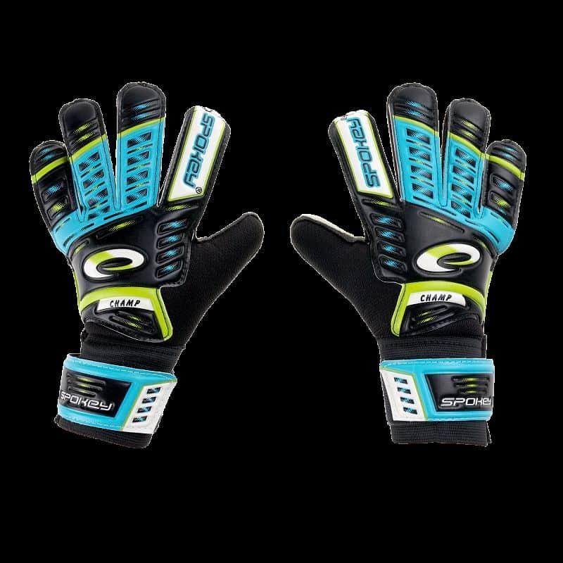 KEEPER JUNIOR brankářské rukavice modré