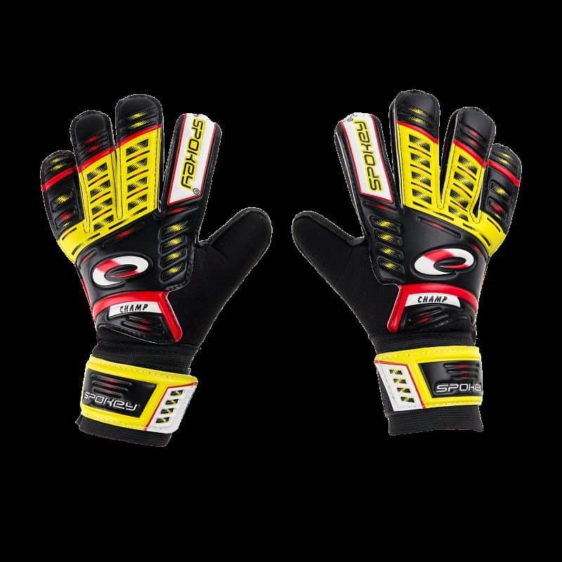 KEEPER JUNIOR brankářské rukavice žluté