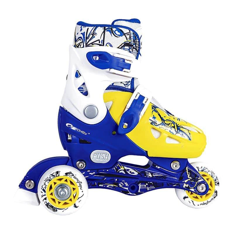NIPPER Dětské kolečkové brusle modré