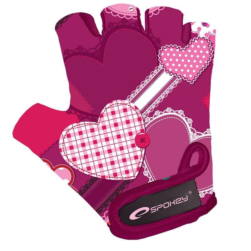 HEART GLOVE Dětské cyklistické rukavice