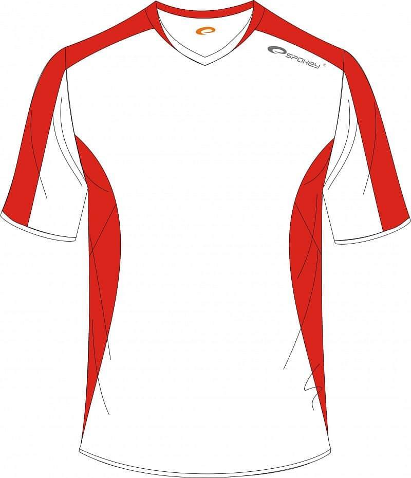 Fotbalové triko bílo-červené S - XXL