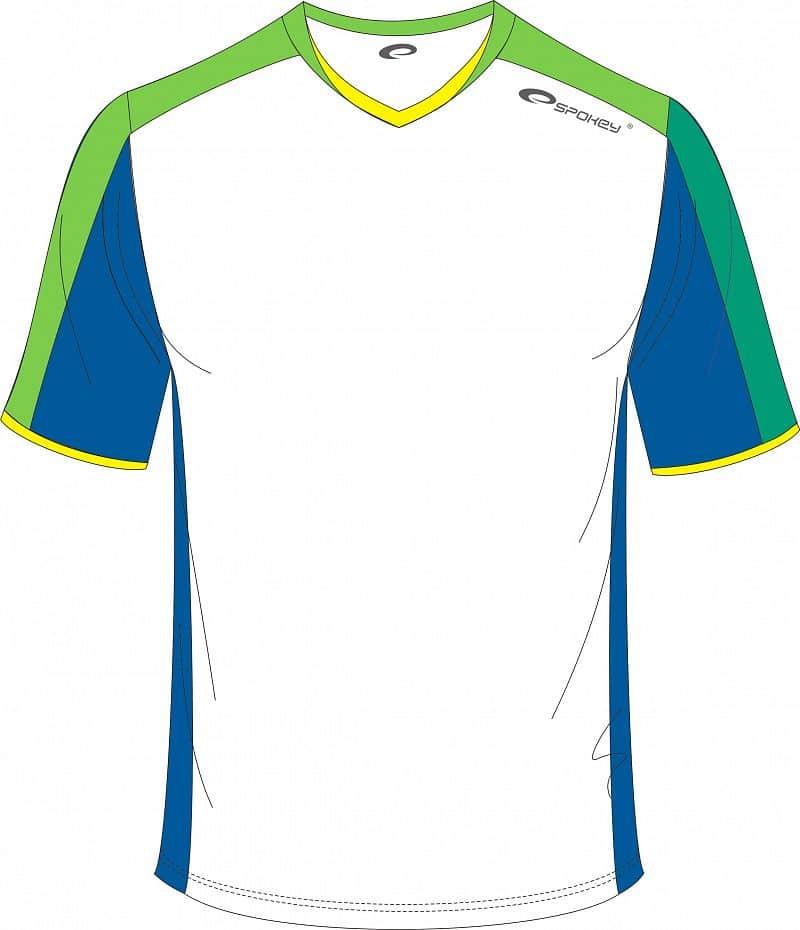 Fotbalové triko bílo-zelené S - XXL