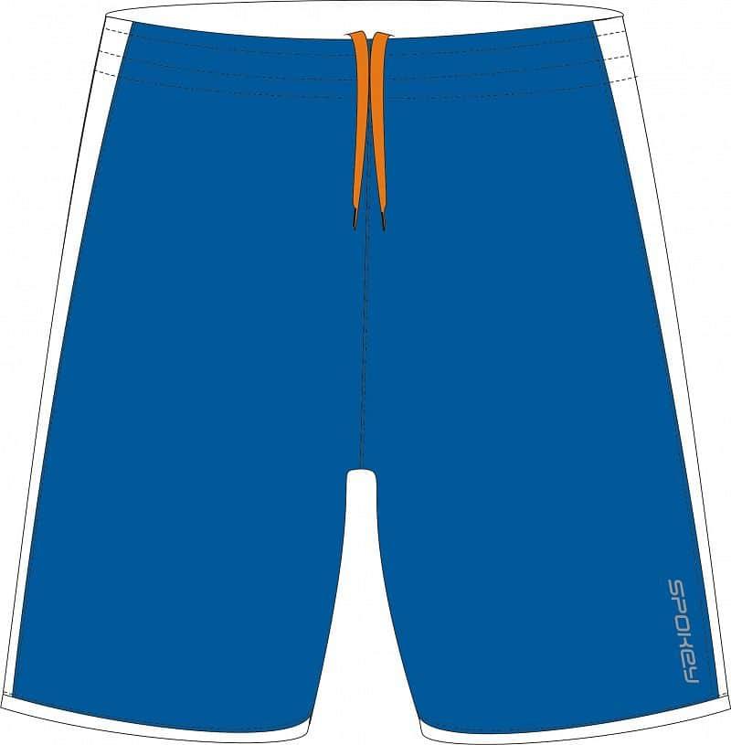 Fotbalové šortky modré junior vel. 128 - 158 cm