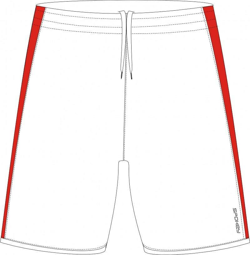 Fotbalové šortky bílé S - XXL