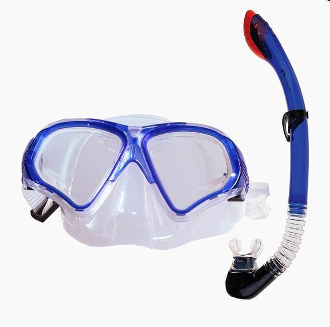 TORTUGA Sada brýle+šnorchl modrý