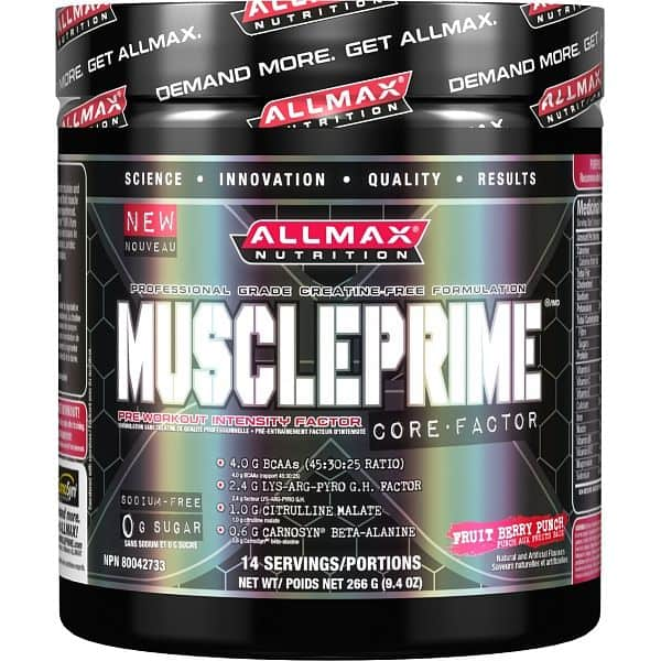 Allmax MusclePrime Core 288g White Raspberry