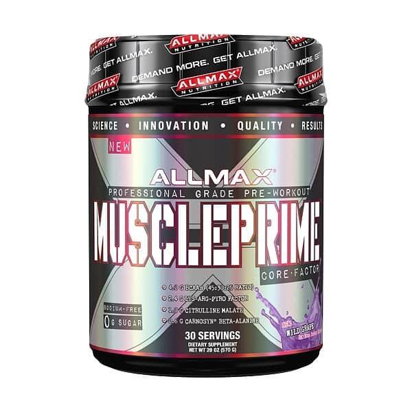 Allmax MusclePrime Core 570g 570g Divoký hrozen
