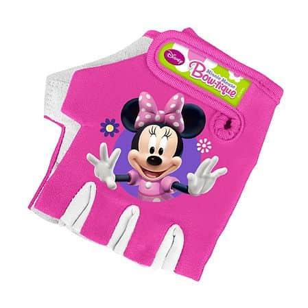 Dětské cyklo rukavice Barbie Myška Minnie