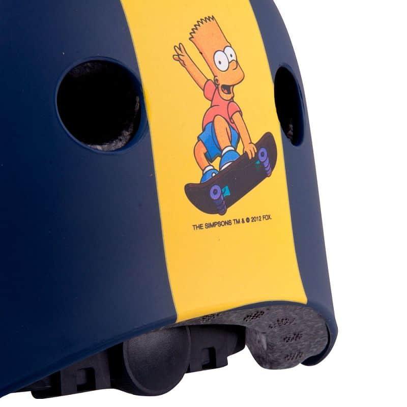 Dětská freestyle přilba Bart Simpson