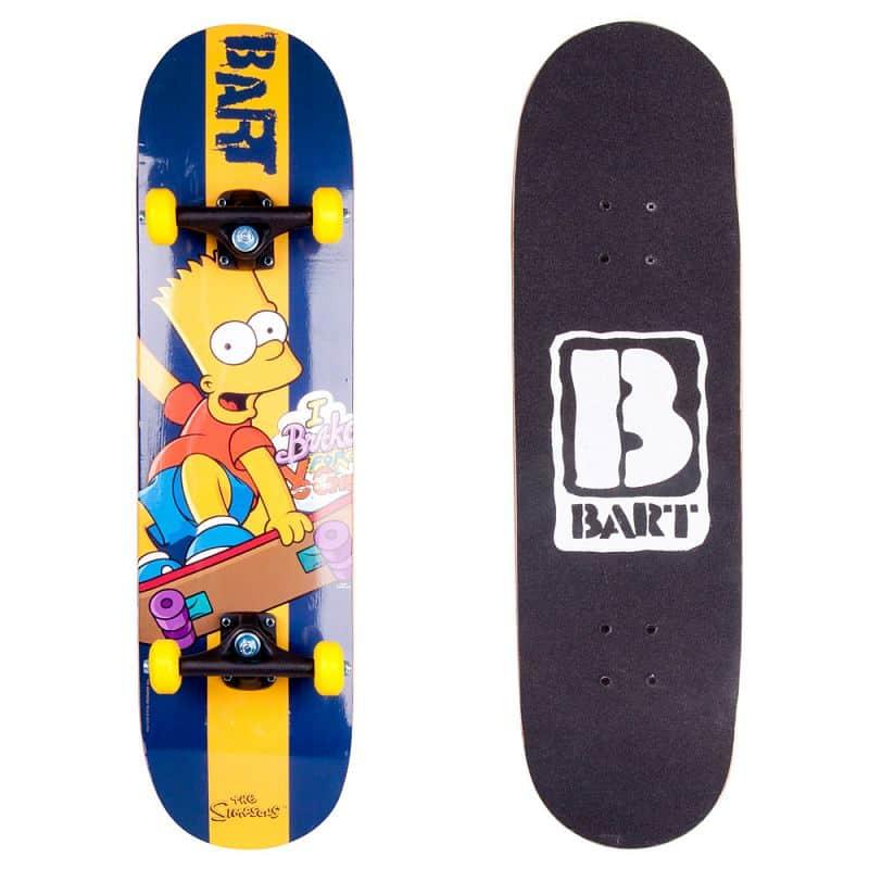 Skateboard Bart Simpson Design 2