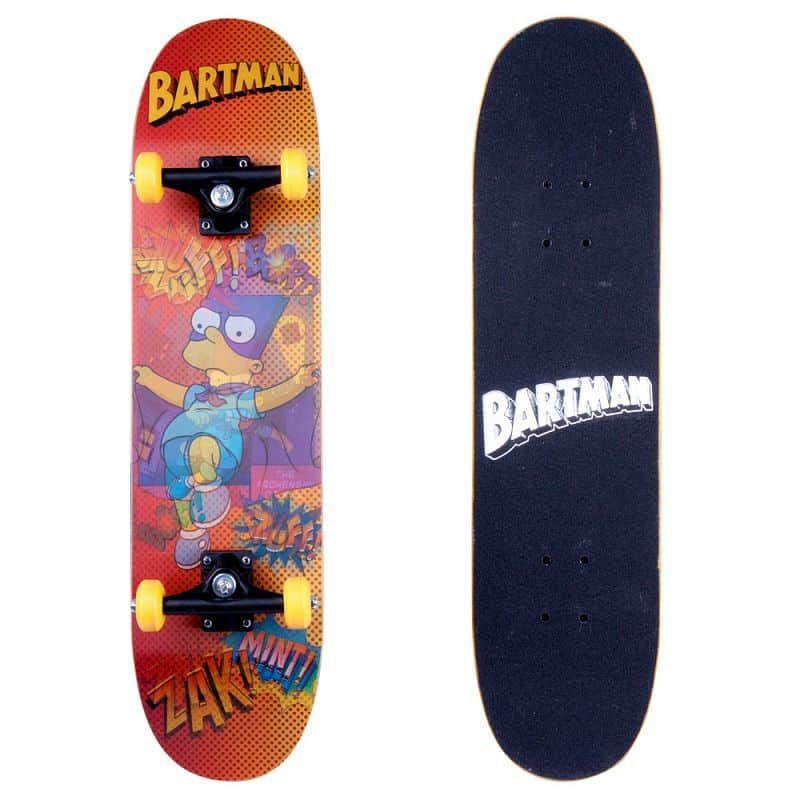 Skateboard 3D Bart Simpson Design 2