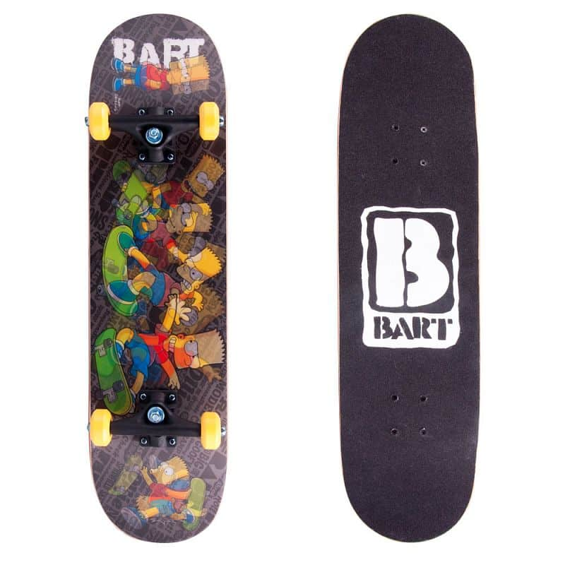 Skateboard 3D Bart Simpson