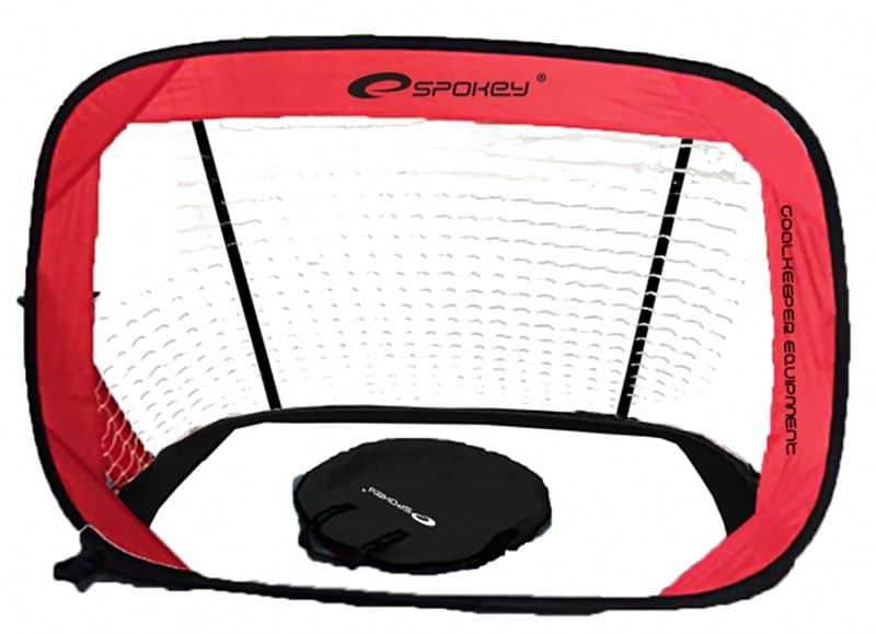 GOALKEEPER Samorozkládací fotbalová branka 2ks 120x80 cm