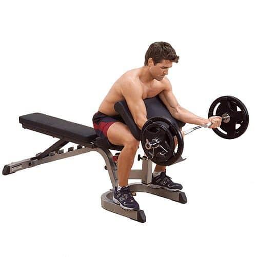 Opěrka na biceps Body-solid GPCA1
