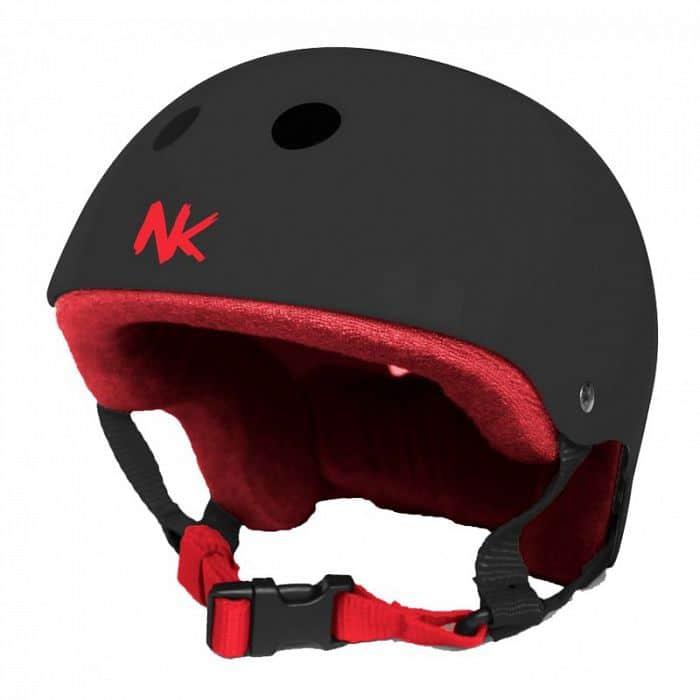 Nokaic helma červeno/ čokoládová