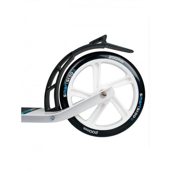 Smartscoo+ skládací koloběžka bílá