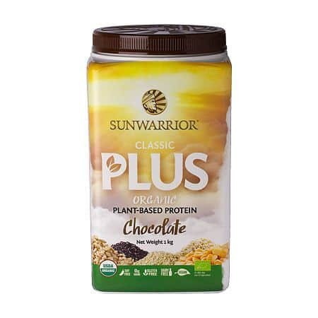 Sunwarrior Protein Classic Plus BIO 1000g - čokoládový