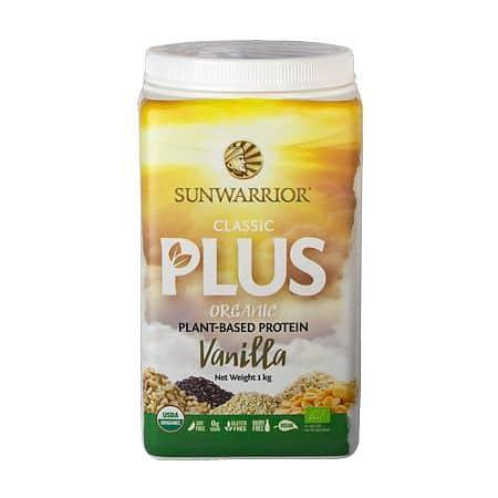 Sunwarrior Protein Classic Plus BIO 1000g - vanilka