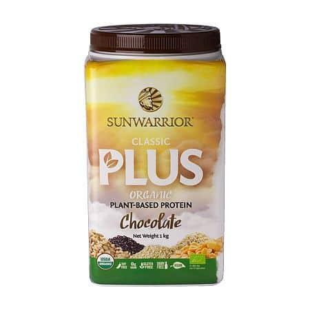 Sunwarrior Protein Classic Plus BIO 500g - čokoládový