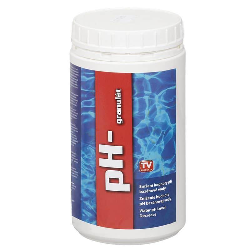 Bazénový pH minus granulát 1kg