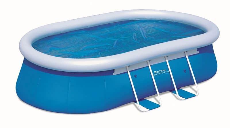 Solární plachta Bestway na oválný bazén 610 x 366 cm