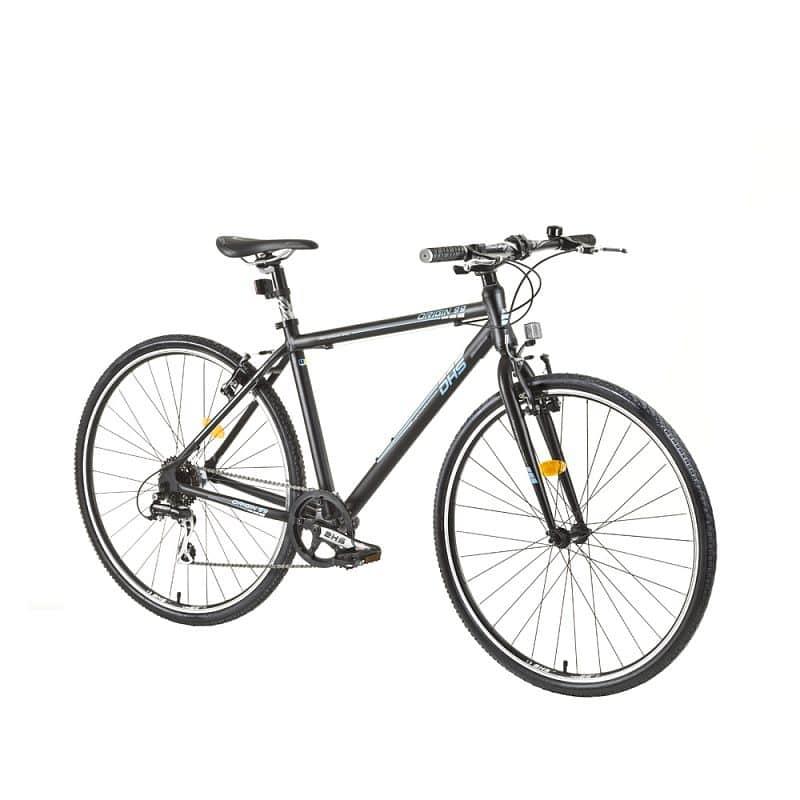 """Městské kolo DHS 2895 28"""" - model 2015 Barva černá, Velikost rámu 19"""""""