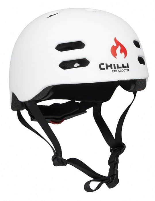 Chilli in-mold bílá helma M: 55-58 cm