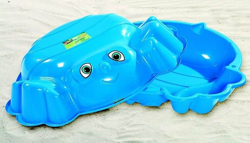 Dvoudílné dětské pískoviště + bazén