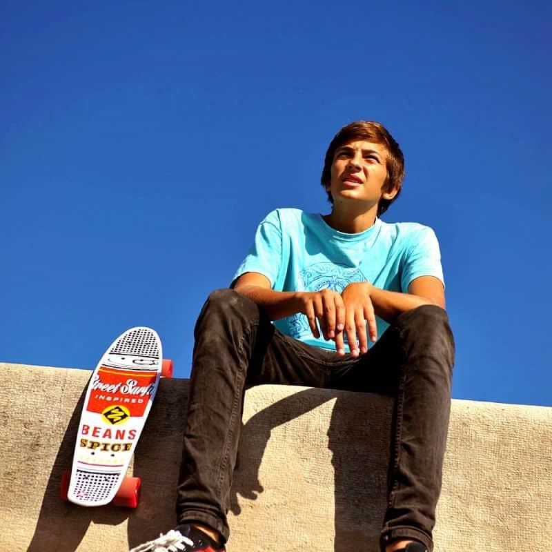 Penny board Street Surfing POP BOARD Souper Black Dot