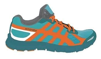LIBERATE 5 Běžecké boty dámské petrol-oranžová vel. 36 - 40