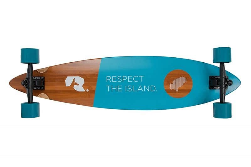 Ibiza Resident Azulejo longboard 38