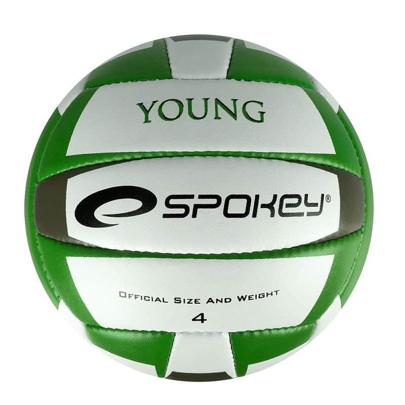 YOUNG II Volejbalový míč zelený vel.4