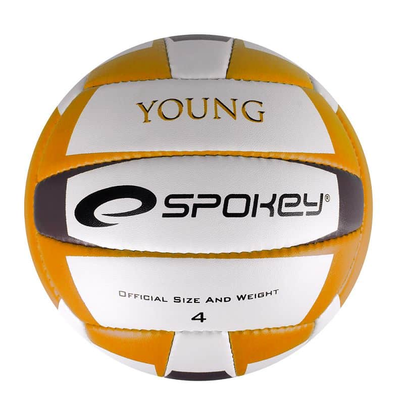 YOUNG II Volejbalový míč žlutý vel.4