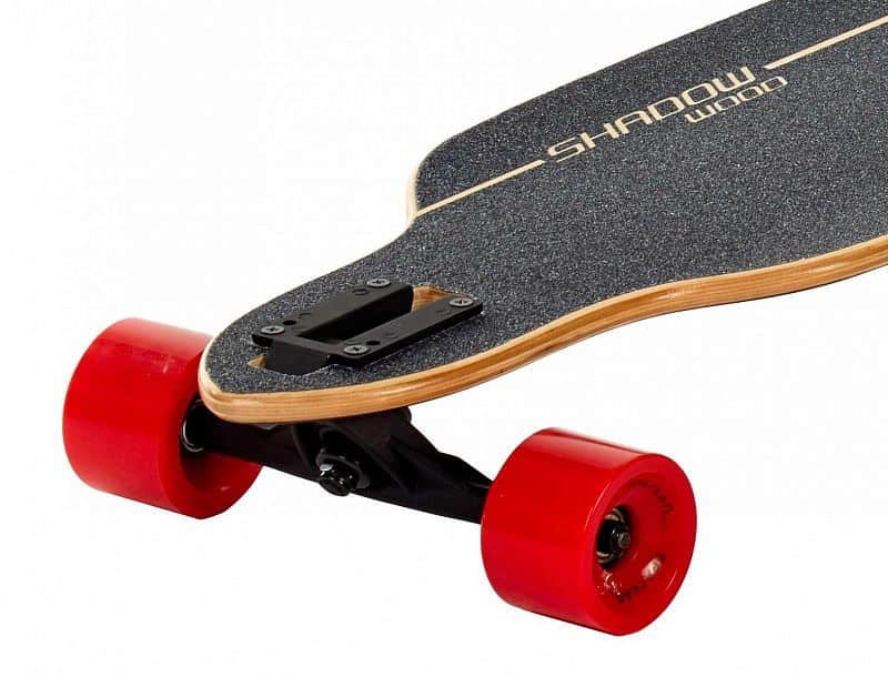 Longboard SPARTAN Shadow Wood 42""