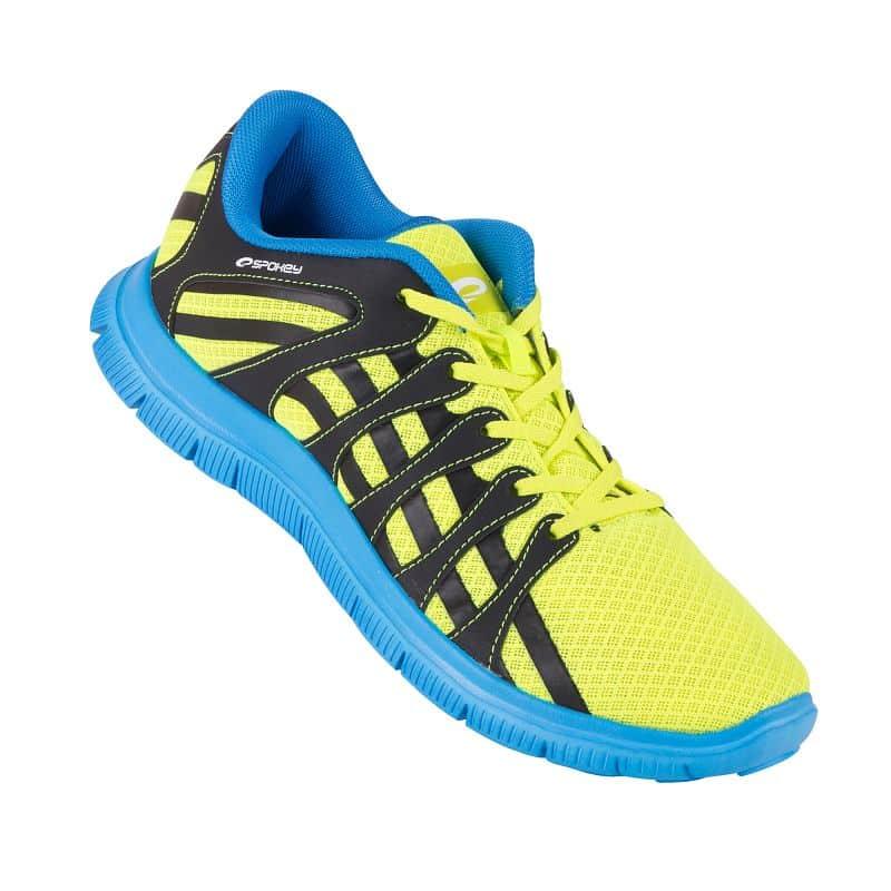 LIBERATE 7 Běžecké boty modrá-žlutá  vel.40 - 45