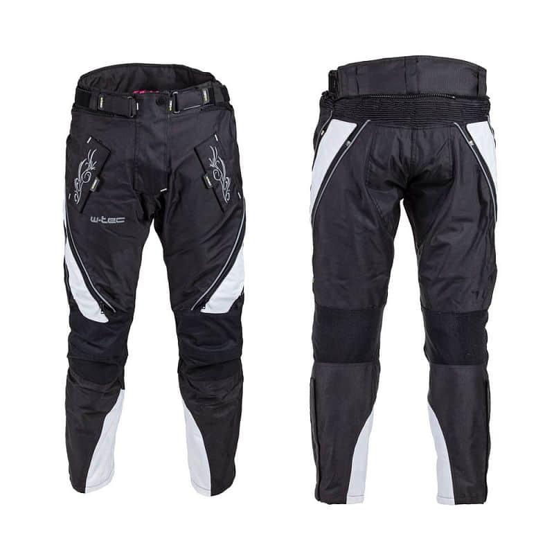 Levně Dámské moto kalhoty W-TEC Kaajla NF-2683 Barva černo-růžová, Velikost S