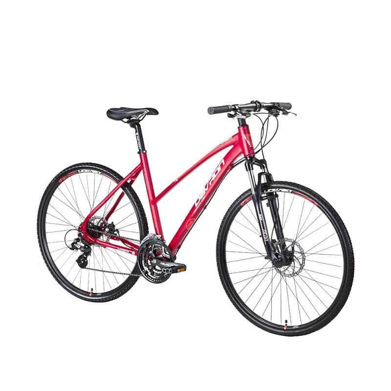 """Dámské crossové kolo Devron Urbio LK2.8 - model 2016 Barva Succubus Red, Velikost rámu 20,5"""""""