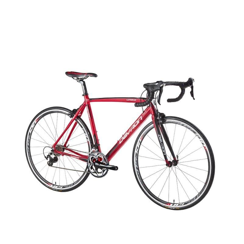 """Silniční kolo Devron Urbio R6.8 - model 2016 Barva Devil Red, Velikost rámu 540 mm (21,5"""") - montáž zdarma, servis u zákazníka"""
