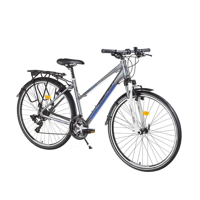 "Dámské trekingové kolo Devron Urbio LT1,8 - model 2016 Barva Fast Grey, Velikost rámu 18"""